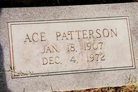 PATTERSON, ACE - Johnson County, Arkansas | ACE PATTERSON - Arkansas Gravestone Photos