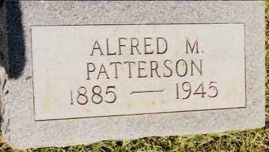 PATTERSON, ALFRED M. - Johnson County, Arkansas | ALFRED M. PATTERSON - Arkansas Gravestone Photos