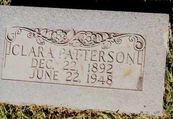 PATTERSON, CLARA - Johnson County, Arkansas | CLARA PATTERSON - Arkansas Gravestone Photos