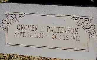 PATTERSON, GROVER C. - Johnson County, Arkansas | GROVER C. PATTERSON - Arkansas Gravestone Photos