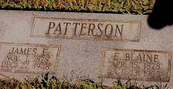 PATTERSON, JAMES E. - Johnson County, Arkansas | JAMES E. PATTERSON - Arkansas Gravestone Photos
