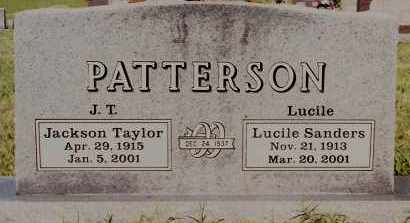 SANDERS PATTERSON, LUCILE - Johnson County, Arkansas | LUCILE SANDERS PATTERSON - Arkansas Gravestone Photos