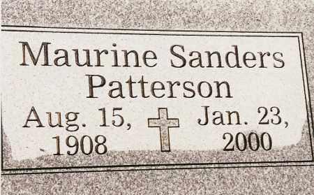 PATTERSON, MAURINE SANDERS - Johnson County, Arkansas   MAURINE SANDERS PATTERSON - Arkansas Gravestone Photos