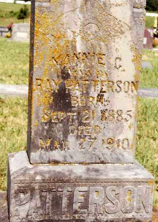 PATTERSON, NANNIE C. - Johnson County, Arkansas | NANNIE C. PATTERSON - Arkansas Gravestone Photos
