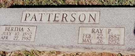 PATTERSON, BERTHA S. - Johnson County, Arkansas | BERTHA S. PATTERSON - Arkansas Gravestone Photos