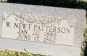 PATTERSON, W. NEWT. - Johnson County, Arkansas | W. NEWT. PATTERSON - Arkansas Gravestone Photos