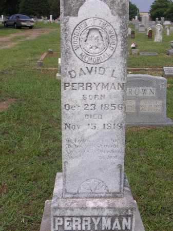 PERRYMAN, DAVID L - Johnson County, Arkansas | DAVID L PERRYMAN - Arkansas Gravestone Photos