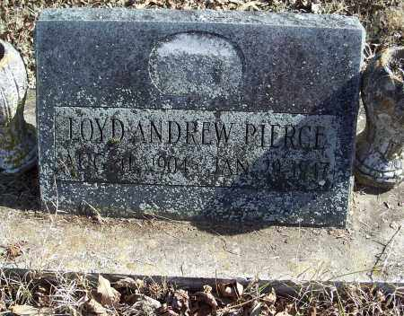 PIERCE, LOYD ANDREW - Johnson County, Arkansas | LOYD ANDREW PIERCE - Arkansas Gravestone Photos