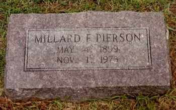 PIERSON, MILLARD F. - Johnson County, Arkansas | MILLARD F. PIERSON - Arkansas Gravestone Photos