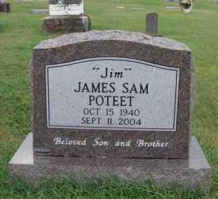 "POTEET, JAMES SAM ""JIM"" - Johnson County, Arkansas | JAMES SAM ""JIM"" POTEET - Arkansas Gravestone Photos"