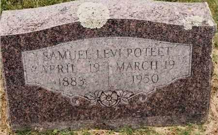 POTEET, SAMUEL LEVI - Johnson County, Arkansas | SAMUEL LEVI POTEET - Arkansas Gravestone Photos