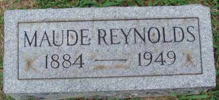REYNOLDS, MAUD - Johnson County, Arkansas | MAUD REYNOLDS - Arkansas Gravestone Photos