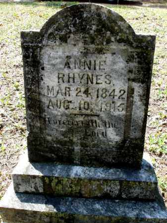 "RHYNES, BETTA ANNALOU ""ANNIE"" - Johnson County, Arkansas 