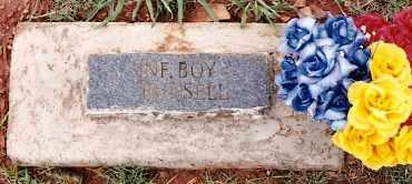 RUSSELL, INFANT BOY - Johnson County, Arkansas | INFANT BOY RUSSELL - Arkansas Gravestone Photos