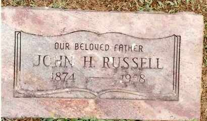 RUSSELL, JOHN H. - Johnson County, Arkansas | JOHN H. RUSSELL - Arkansas Gravestone Photos