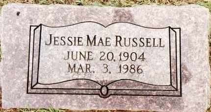 RUSSELL, JESSIE MAE - Johnson County, Arkansas | JESSIE MAE RUSSELL - Arkansas Gravestone Photos