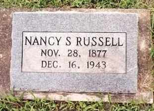 RUSSELL, NANCY S. - Johnson County, Arkansas | NANCY S. RUSSELL - Arkansas Gravestone Photos