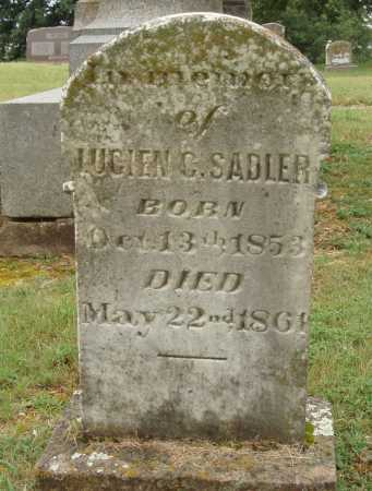 SADLER, LUCIEN C. - Johnson County, Arkansas | LUCIEN C. SADLER - Arkansas Gravestone Photos