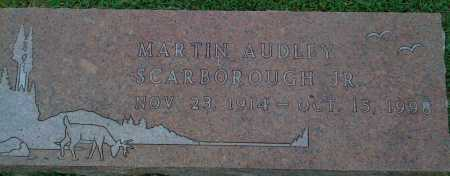 SCARBOROUGH JR., MARTIN AUDLEY - Johnson County, Arkansas | MARTIN AUDLEY SCARBOROUGH JR. - Arkansas Gravestone Photos