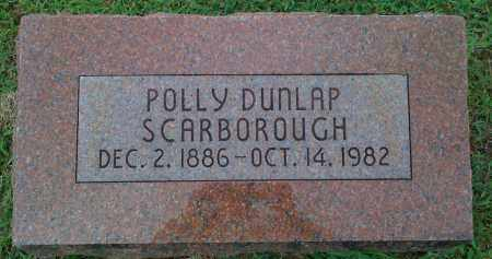 SCARBOROUGH, POLLY - Johnson County, Arkansas | POLLY SCARBOROUGH - Arkansas Gravestone Photos