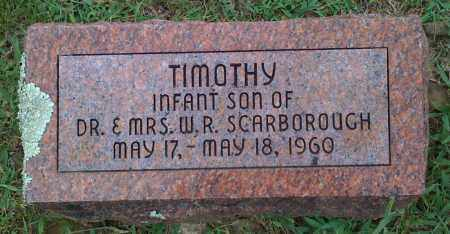 SCARBOROUGH, TIMOTHY - Johnson County, Arkansas | TIMOTHY SCARBOROUGH - Arkansas Gravestone Photos