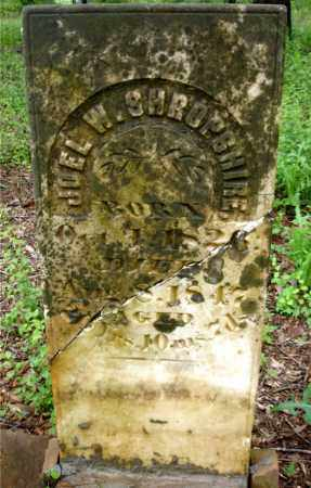 SHROPSHIRE, JOEL W. - Johnson County, Arkansas | JOEL W. SHROPSHIRE - Arkansas Gravestone Photos