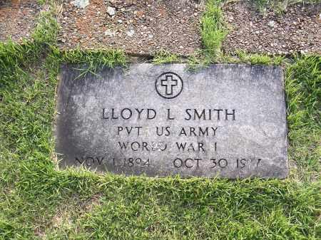 SMITH  (VETERAN WWI), LLOYD L - Johnson County, Arkansas | LLOYD L SMITH  (VETERAN WWI) - Arkansas Gravestone Photos