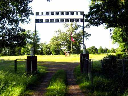 *SPADRA CEMETERY GATE,  - Johnson County, Arkansas |  *SPADRA CEMETERY GATE - Arkansas Gravestone Photos