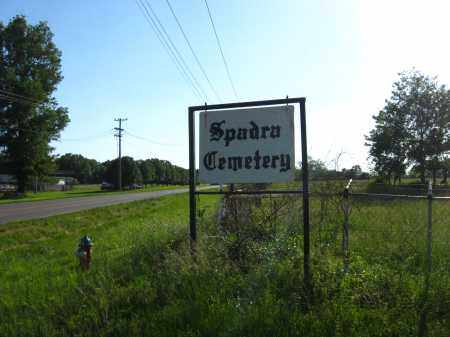 *SPADRA CEMETERY SIGN,  - Johnson County, Arkansas |  *SPADRA CEMETERY SIGN - Arkansas Gravestone Photos