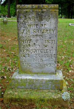 SRYGLEY, SARAH J. - Johnson County, Arkansas | SARAH J. SRYGLEY - Arkansas Gravestone Photos