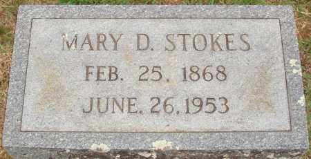 STOKES, MARY D. - Johnson County, Arkansas | MARY D. STOKES - Arkansas Gravestone Photos