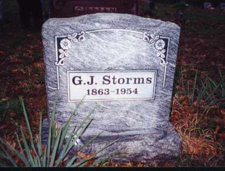 STORMS, GENERAL JACKSON - Johnson County, Arkansas | GENERAL JACKSON STORMS - Arkansas Gravestone Photos