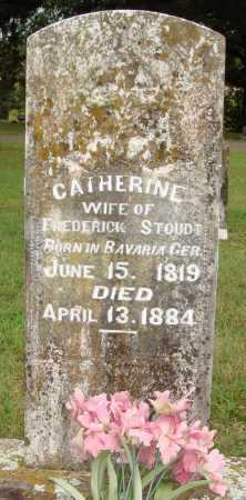 STOUDT, CATHERINE - Johnson County, Arkansas | CATHERINE STOUDT - Arkansas Gravestone Photos