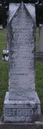 STOUDT, THEODORE - Johnson County, Arkansas | THEODORE STOUDT - Arkansas Gravestone Photos