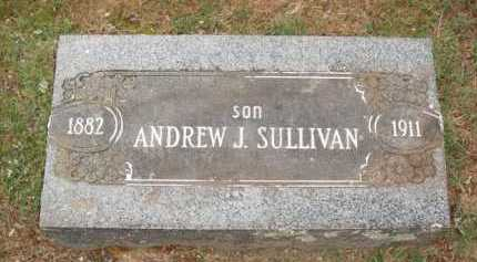 SULLIVAN, ANDREW J. - Johnson County, Arkansas | ANDREW J. SULLIVAN - Arkansas Gravestone Photos