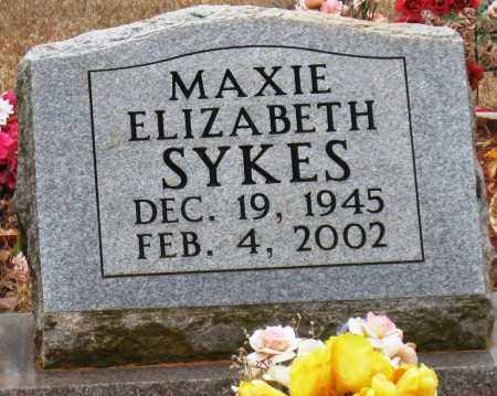 SYKES, MAXIE ELIZABETH - Johnson County, Arkansas | MAXIE ELIZABETH SYKES - Arkansas Gravestone Photos