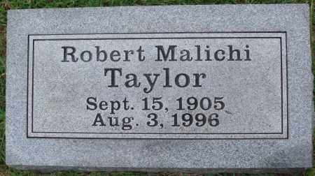 TAYLOR, ROBERT MALICHI - Johnson County, Arkansas | ROBERT MALICHI TAYLOR - Arkansas Gravestone Photos