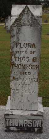 THOMPSON, FLORA - Johnson County, Arkansas | FLORA THOMPSON - Arkansas Gravestone Photos