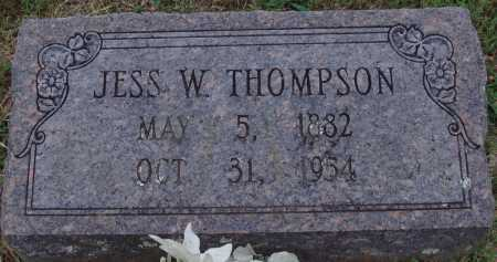 THOMPSON, JESS W. - Johnson County, Arkansas | JESS W. THOMPSON - Arkansas Gravestone Photos