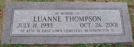 THOMPSON, LUANNE - Johnson County, Arkansas | LUANNE THOMPSON - Arkansas Gravestone Photos