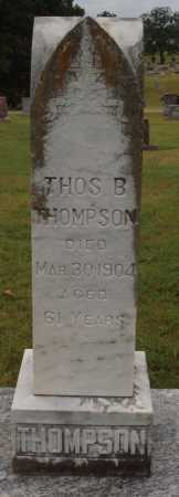 THOMPSON, THOMAS B. - Johnson County, Arkansas | THOMAS B. THOMPSON - Arkansas Gravestone Photos