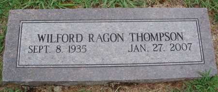 THOMPSON, WILFORD RAGON - Johnson County, Arkansas | WILFORD RAGON THOMPSON - Arkansas Gravestone Photos