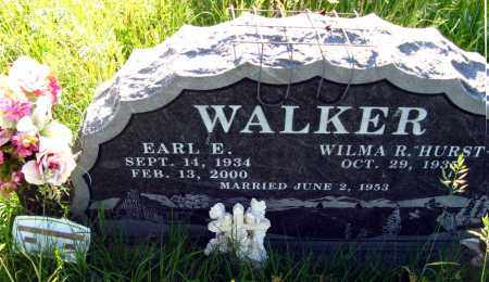 WALKER, EARL E. - Johnson County, Arkansas | EARL E. WALKER - Arkansas Gravestone Photos