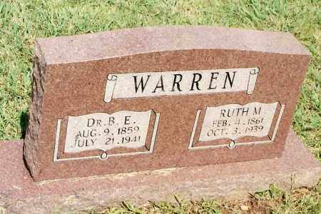 WARREN, BRAXTON E. - Johnson County, Arkansas | BRAXTON E. WARREN - Arkansas Gravestone Photos