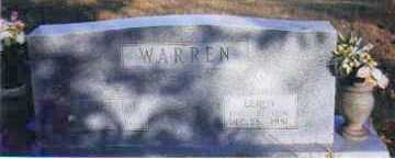 WARREN, LEROY - Johnson County, Arkansas | LEROY WARREN - Arkansas Gravestone Photos