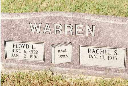 WARREN, FLOYD L - Johnson County, Arkansas | FLOYD L WARREN - Arkansas Gravestone Photos