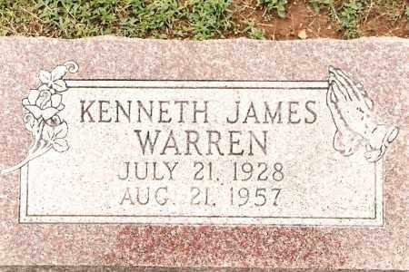 WARREN, KENNETH - Johnson County, Arkansas | KENNETH WARREN - Arkansas Gravestone Photos