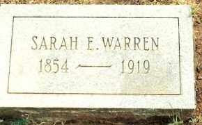 GILLIAN WARREN, SARAH - Johnson County, Arkansas | SARAH GILLIAN WARREN - Arkansas Gravestone Photos