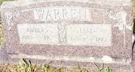 WARREN, LELIA - Johnson County, Arkansas | LELIA WARREN - Arkansas Gravestone Photos