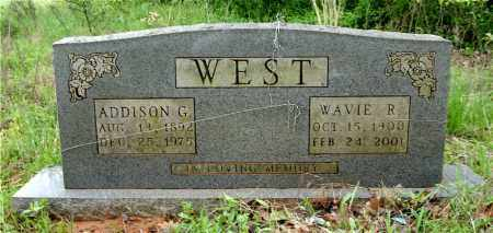 WEST, ADDISON G. - Johnson County, Arkansas | ADDISON G. WEST - Arkansas Gravestone Photos